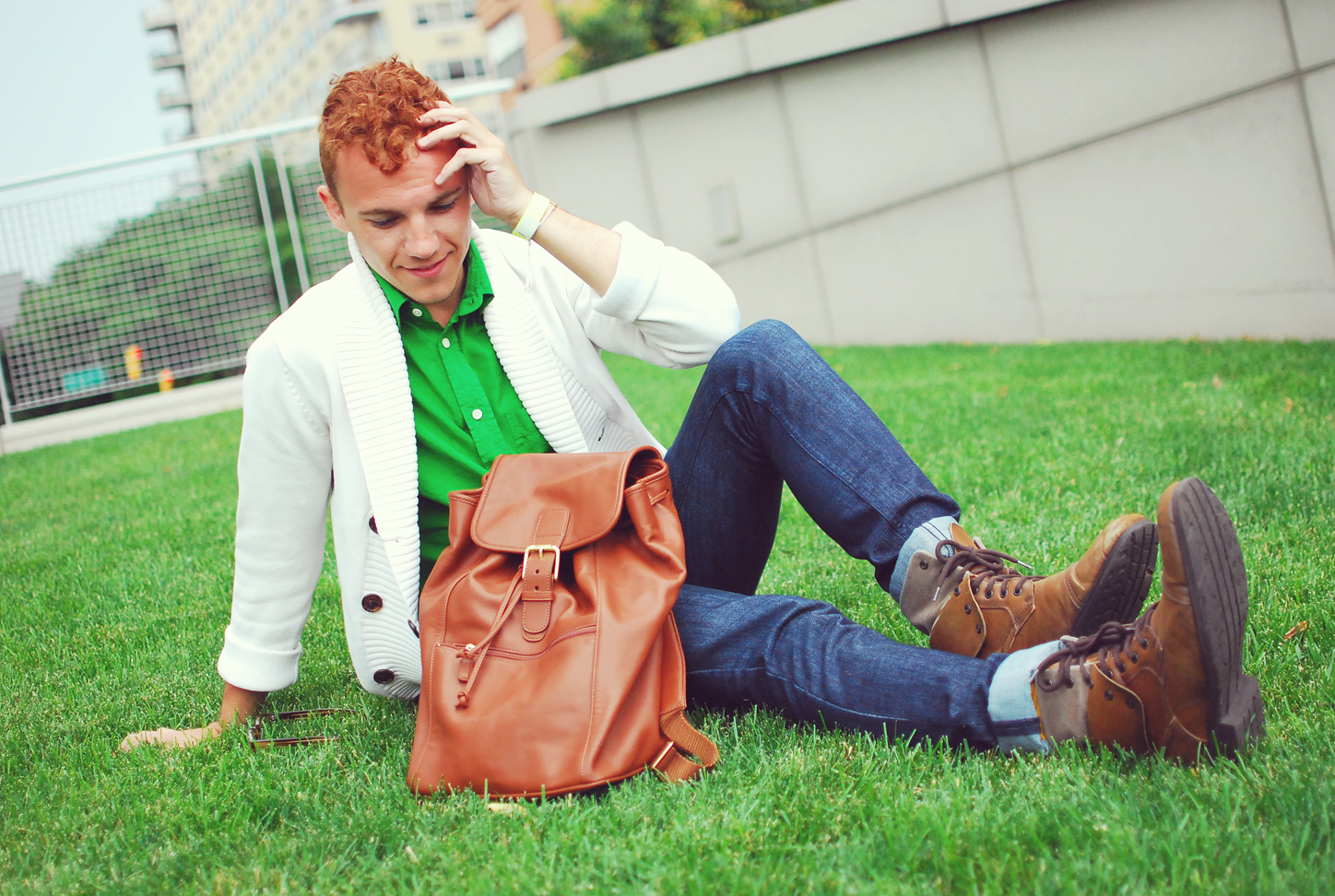 Fashion blogger Justin Livingston of Munrowe
