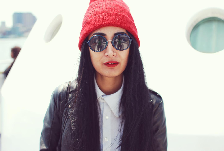 Fashion blogger Nadia Sarwar of Frou Frouu