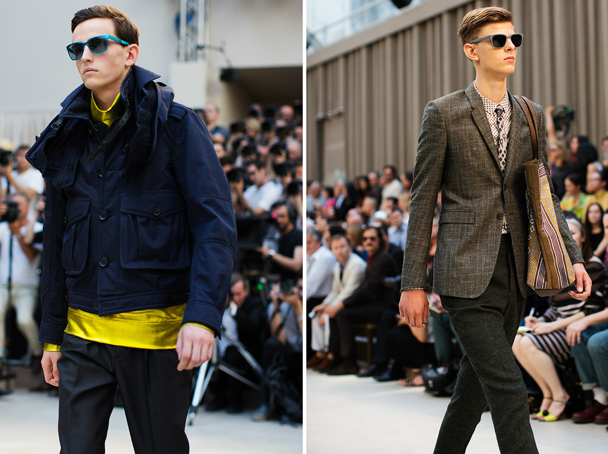 Blogger Justin Livingston of mens fashion blog Munrowe reviews Burberry Mens SS13