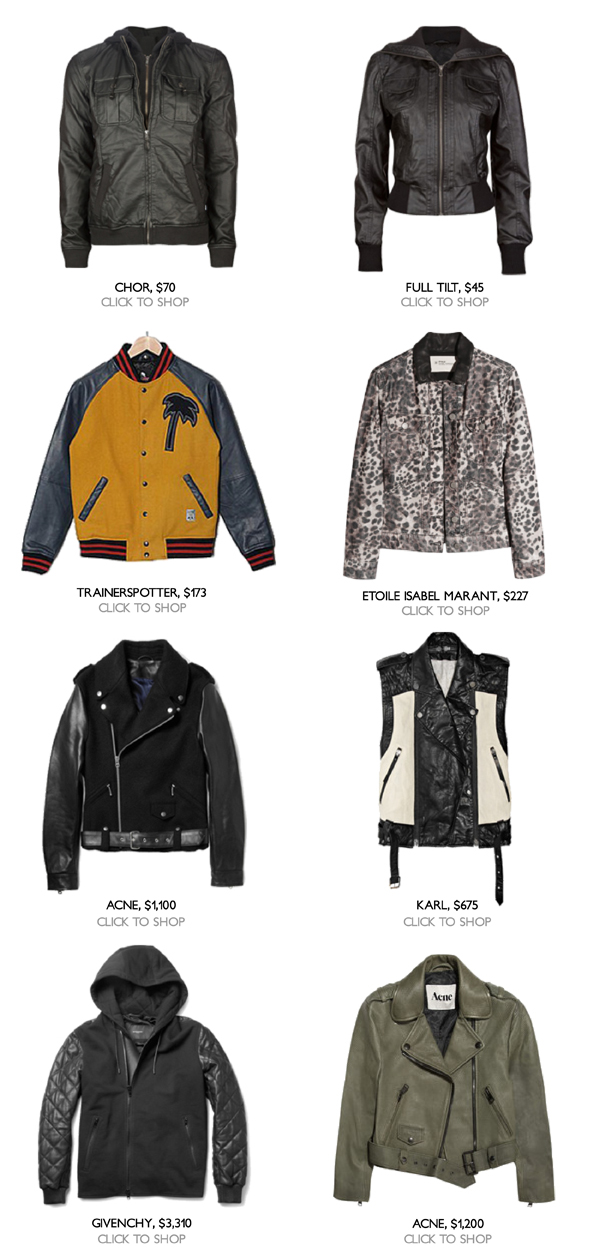 Best Leather Jackets for Fall