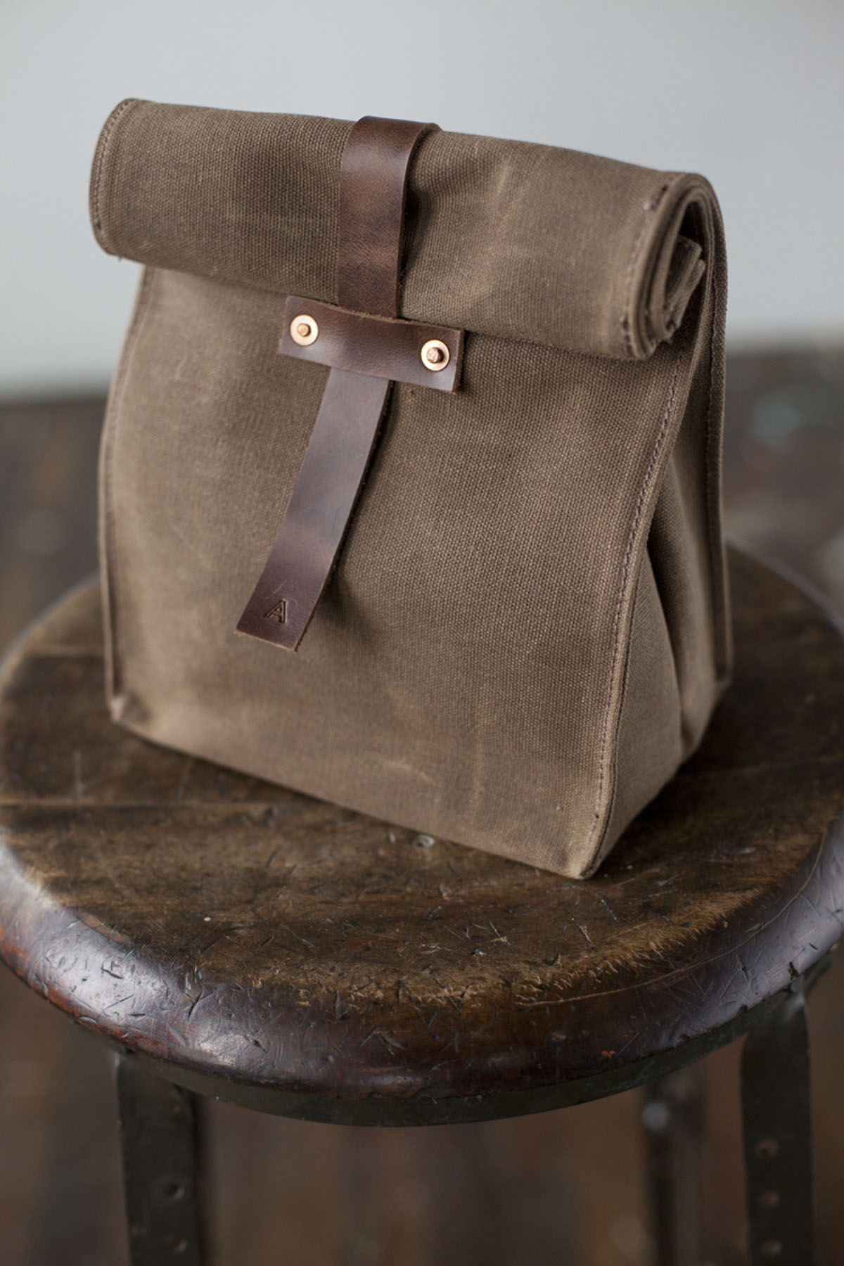 Crave Waxed Lunch Bag Scout Sixteen