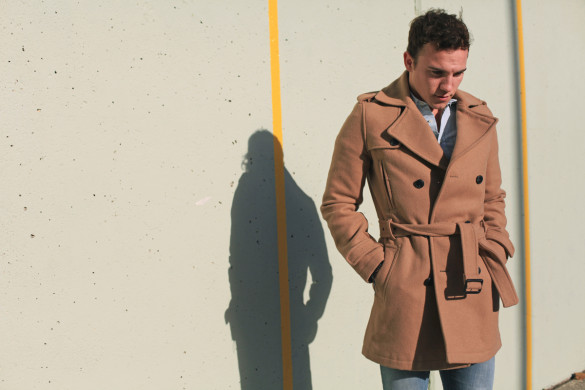Scout Sixteen - Men's Camel Coat