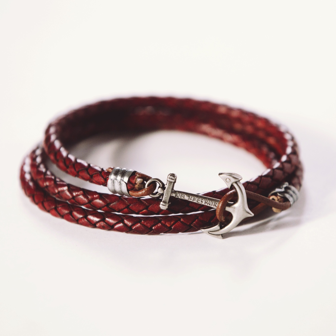 KJP + Scout Sixteen - Leather Anchor Bracelet
