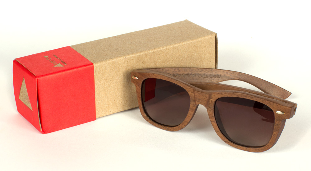 Weekend Eyewear - Walnut Maxwell Sunglasses