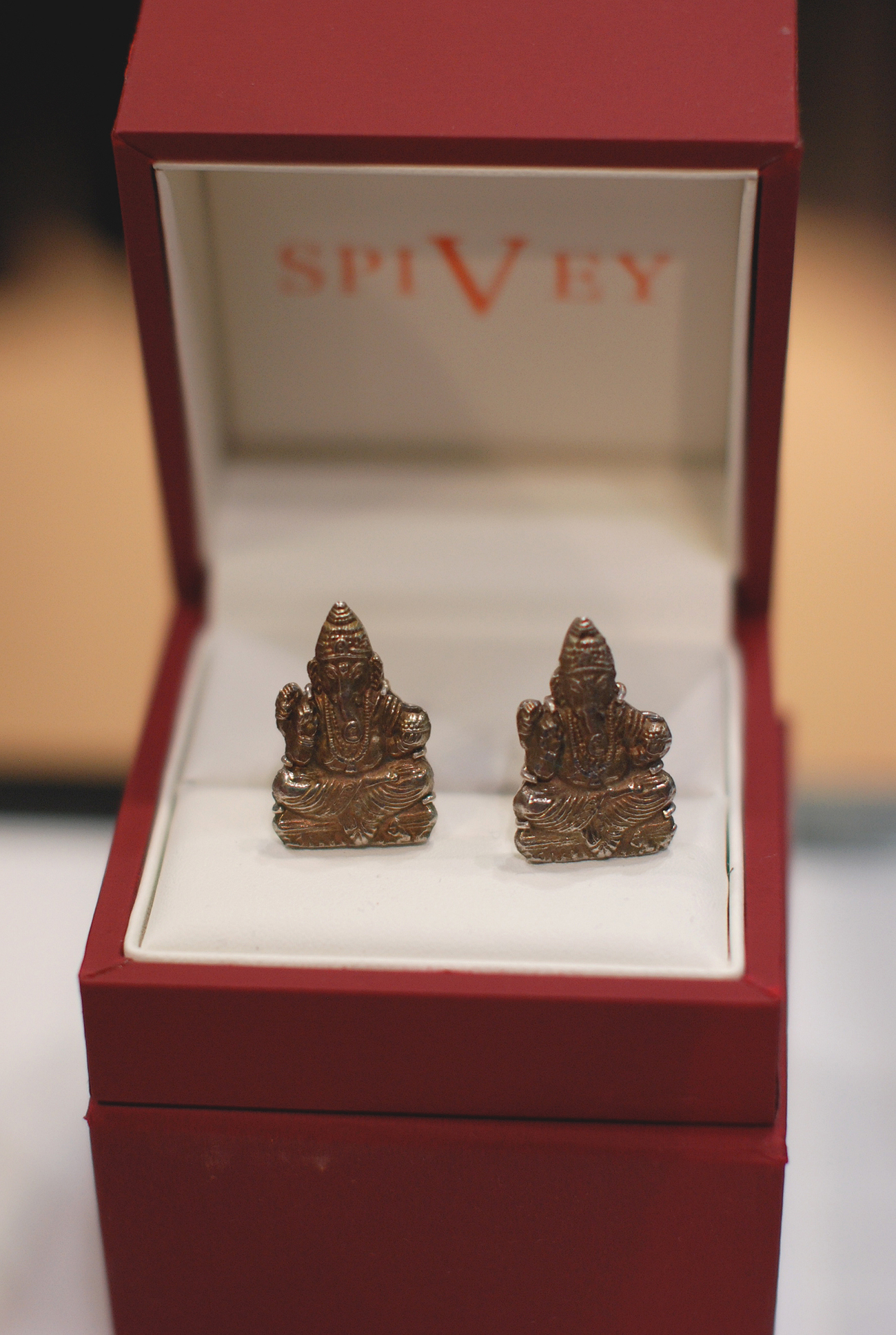 Spivey Cufflinks - MRket Menswear Trade Show