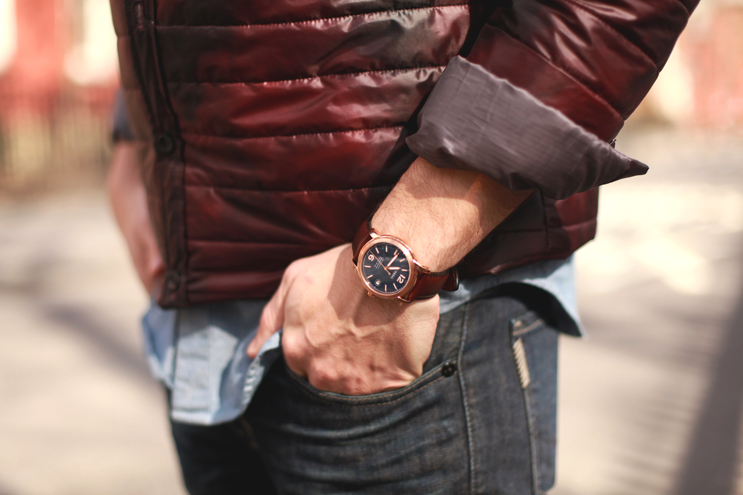 Scout Sixteen - Isaora Jacket / Fossil Watch