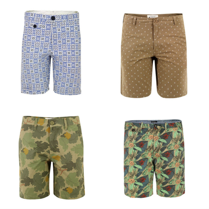 Men's Printed Shorts for Spring / Scout Sixteen ... Oliver Spencer Skinny Cullen Shorts, Native Youth Boat Print Shorts, Native Youth Camo Printed Shorts, Paul Smith 306M Printed Shorts