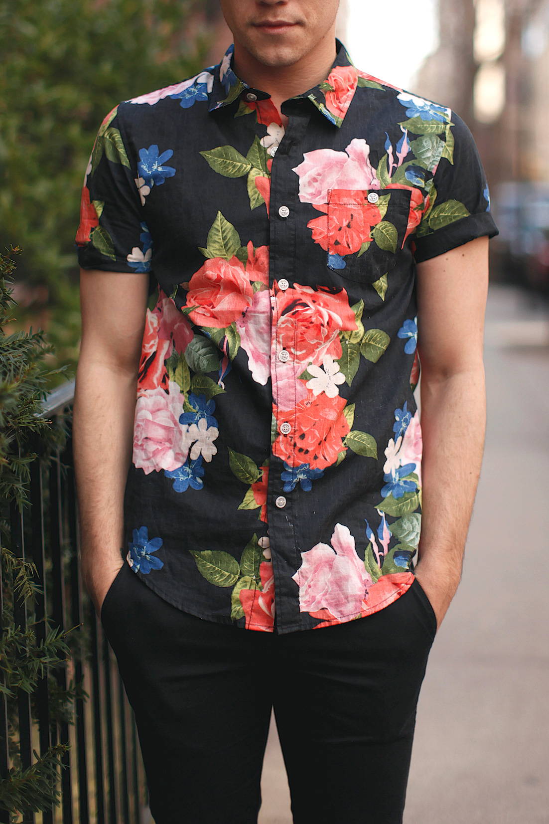 Scout Sixteen - Men's Floral Shirt