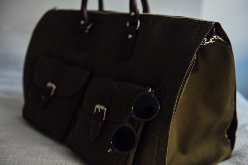 Scout Sixteen - Hook & Albert Garment Weekender