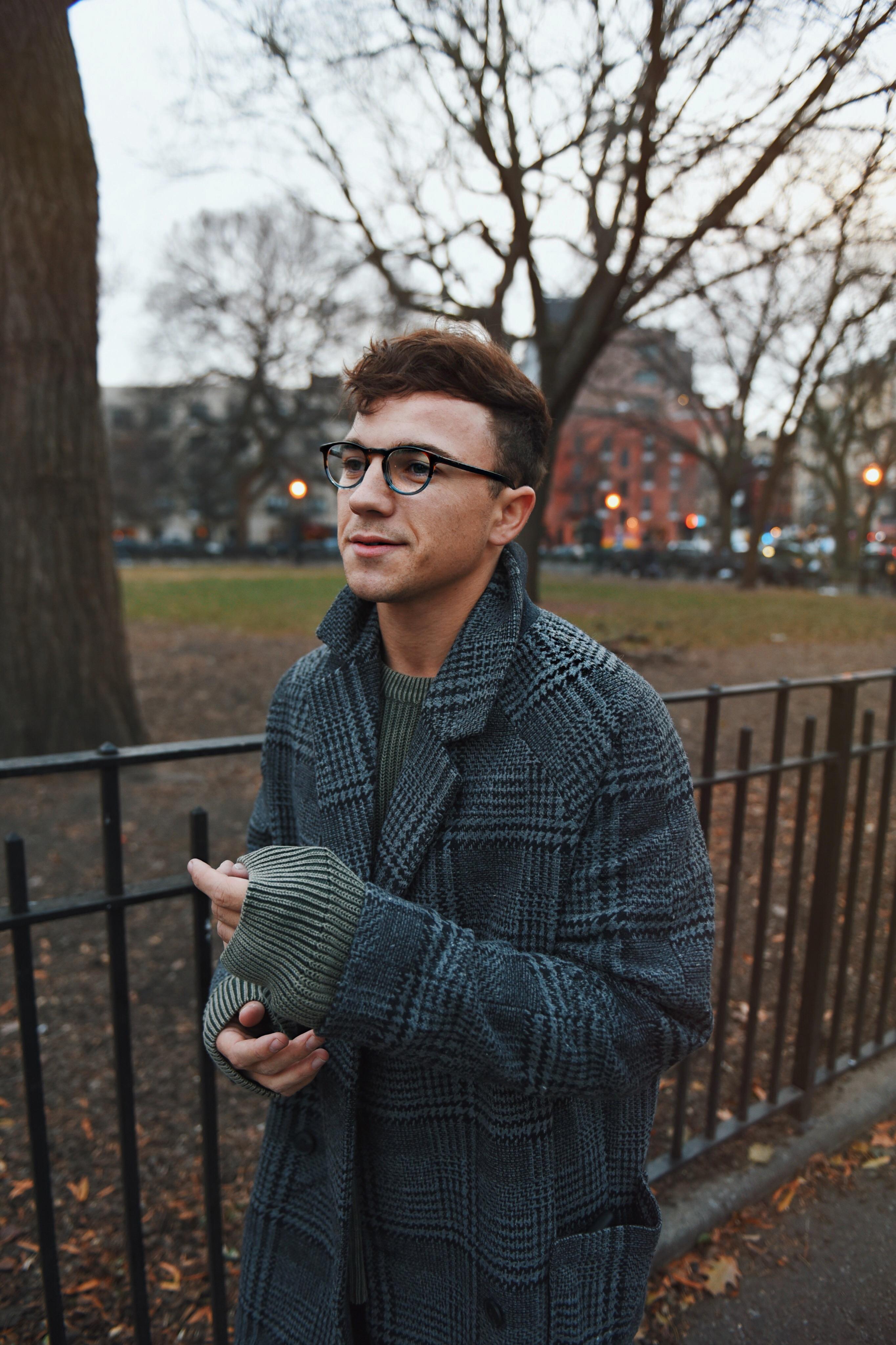 Justin Livingston Warby Parker Tyler Oakley