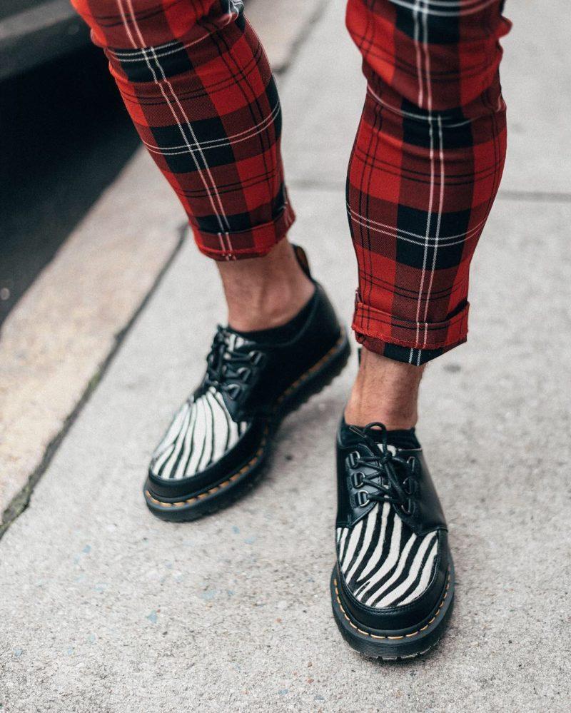 Scoutsixteen NYC Menswear Blogger Zebra Patterned Shoes