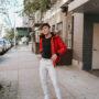 NYC Men's Fashion Blogger Justin Livingston Padded Puffer Parka Faux Fur