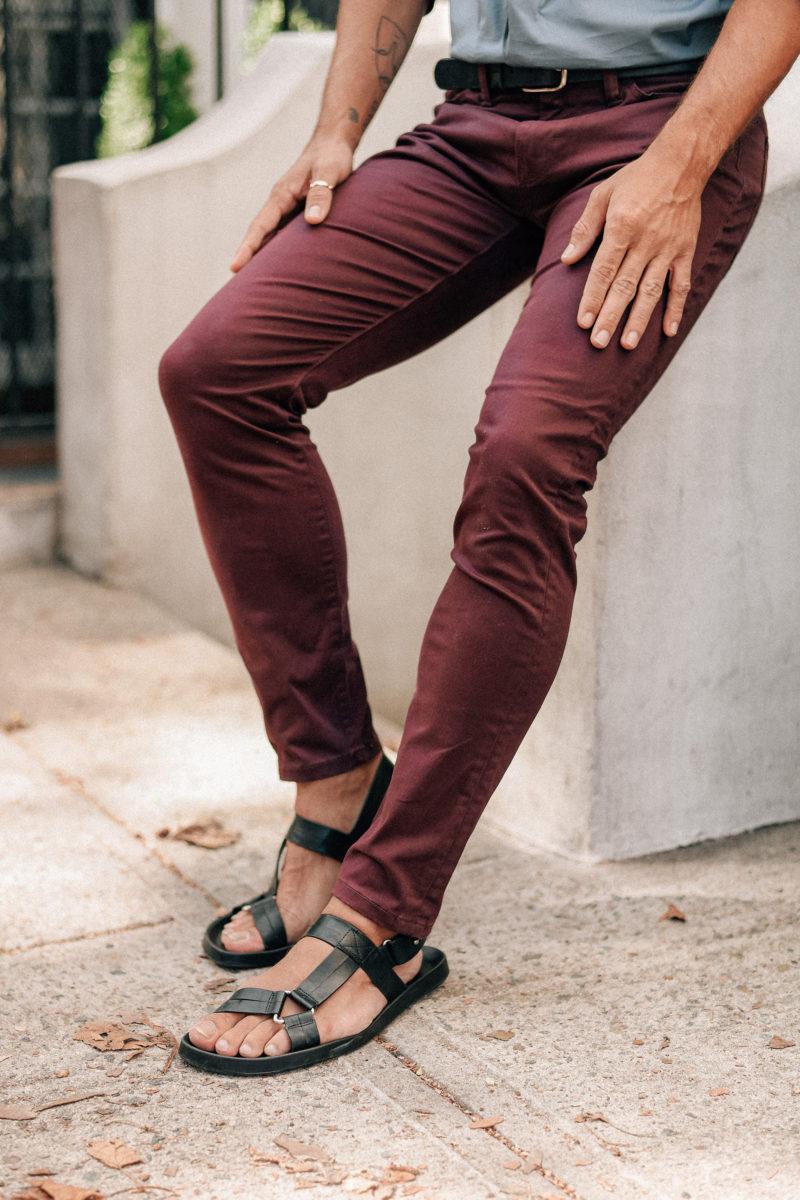 Justin Livingston Men's Fall Fashion Scout Sixteen Style Dockers Supreme Flex Jean Cut