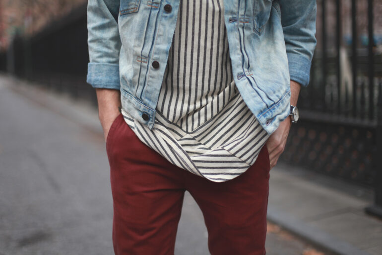 New York Men's Fashion Blog - Scout Sixteen / Ralph Lauren Jacket, Isaora Shirt, Kasil Workshop Pants