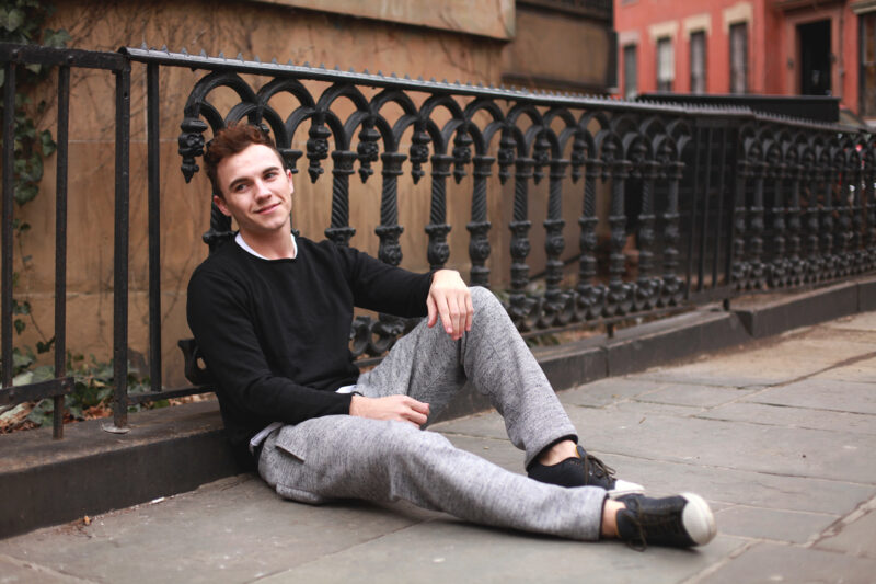 New York Men's Fashion Blog - Scout Sixteen / Isaora Sweatpants, Tretorn Sneakers, Warby Parker Glasses