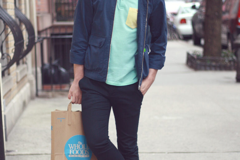 Scout Sixteen / Justin Livingston -- Ted Baker Polo, PUMA Hussein Chalayan Sneakers