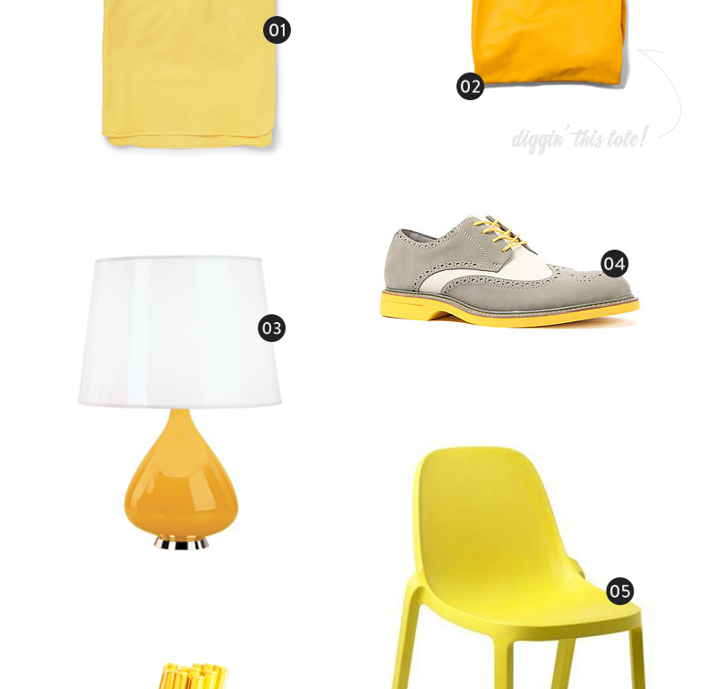 Color Wheel: Yellow