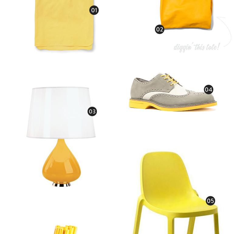Color Wheel: Yellow