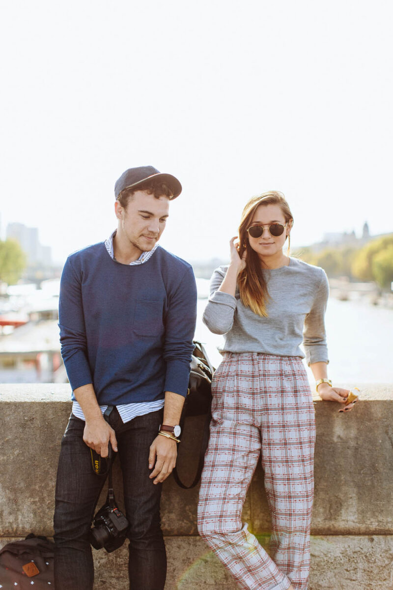 Scout Sixteen and We Wore What in Paris