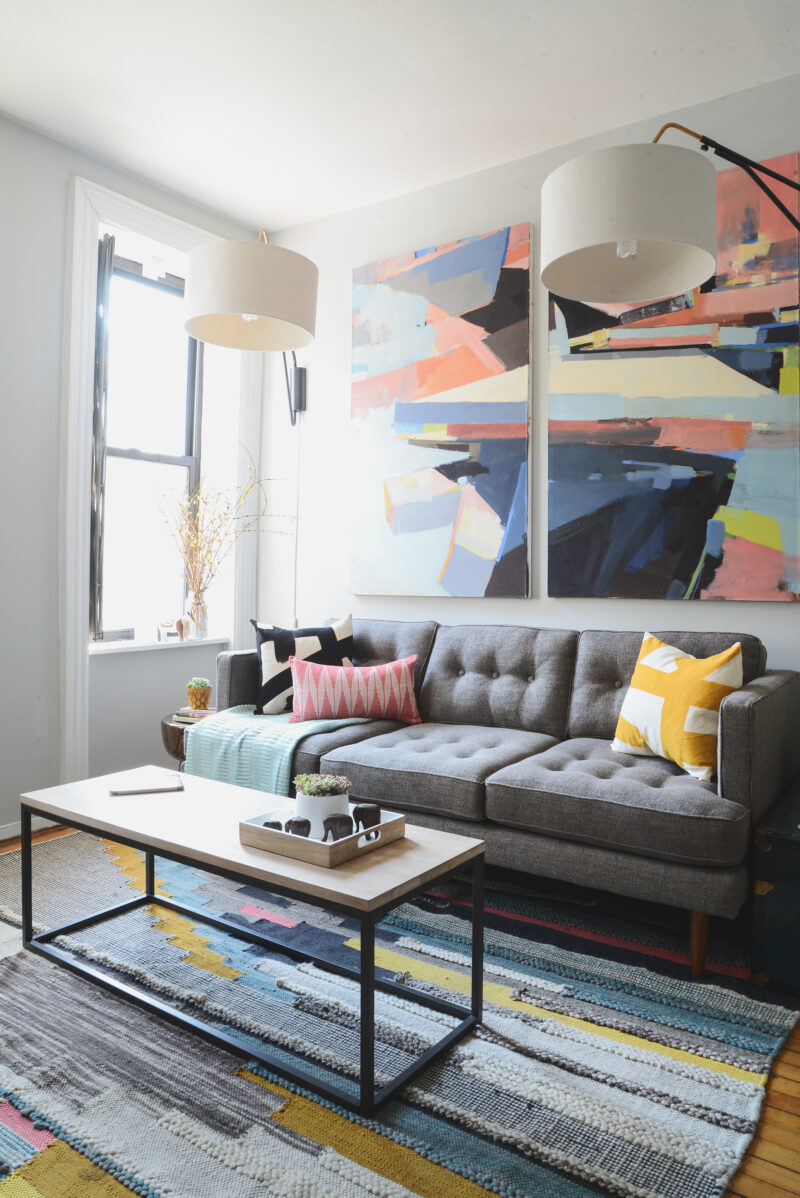 Scout Sixteen - West Elm Homepolish Makeover / Photo by Claire Esparros